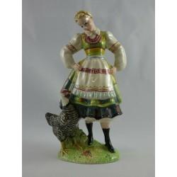 Rare Beswick Figure Polish...